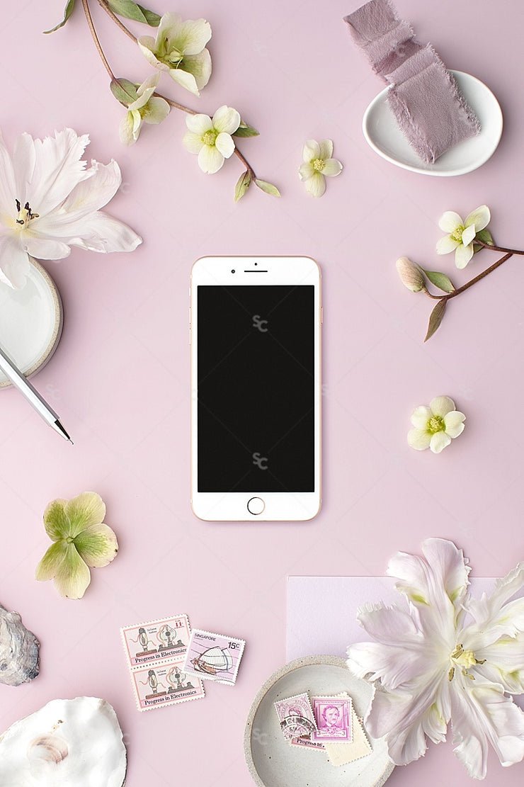 MaeMae x SC Collection: Lavender SET 6 | Phone Screen