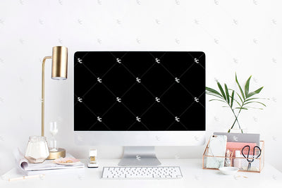 Styled Stock Photography Blush and Palms Desk Collection #16
