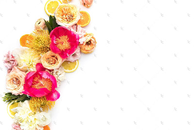 Styled Stock Citrus Floral Collection #14