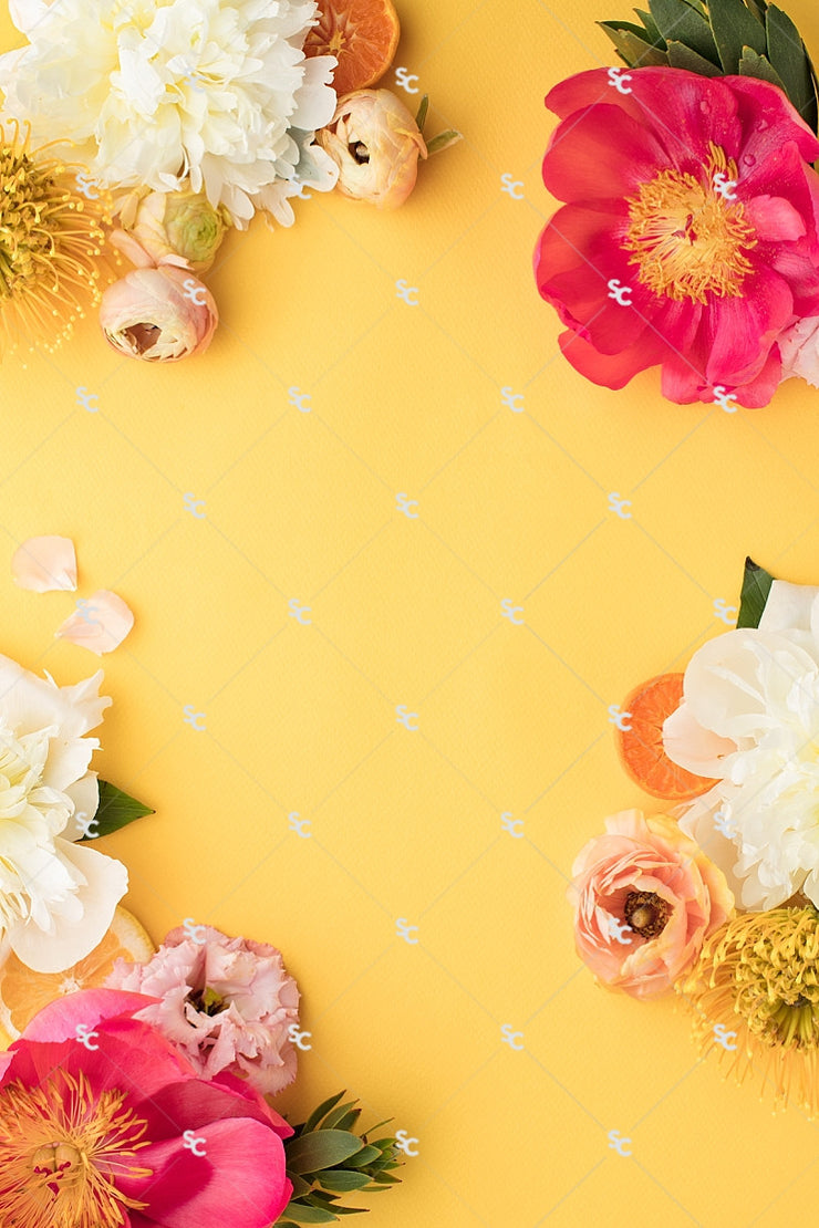 Styled Stock Citrus Floral Collection #06