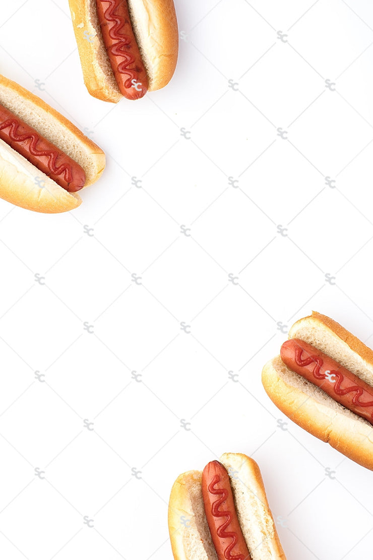 Summer Styled Stock Collection | Cookout Hot Dogs