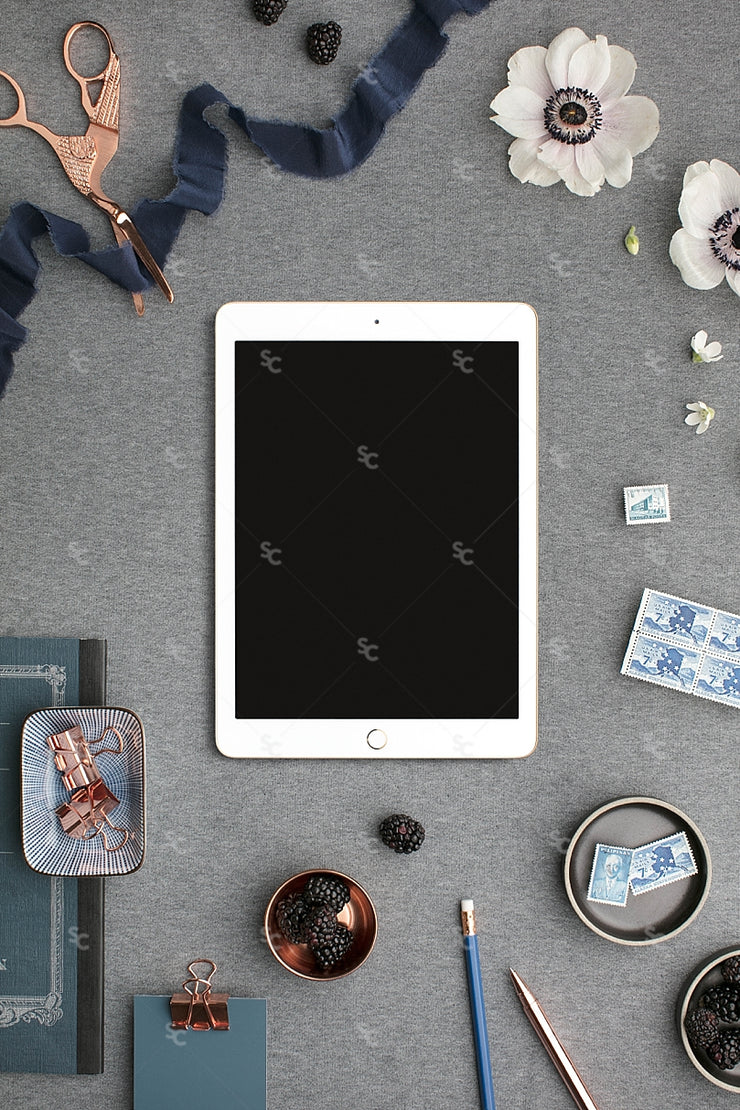 MaeMae x SC Collection: Navy SET 5 | Tablet Screen