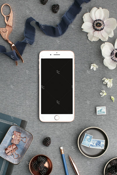 MaeMae x SC Collection: Navy SET 6 | Phone Screen
