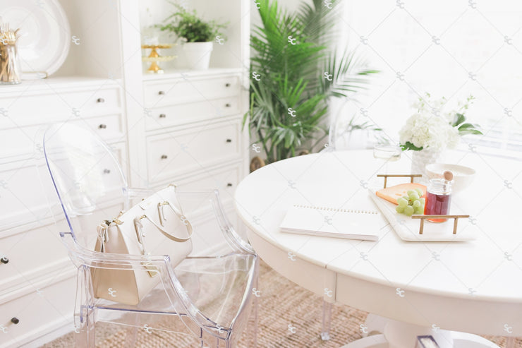 Lifestyle Styled Stock Collection White SET #20