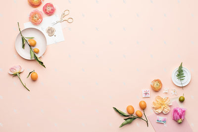 MaeMae x SC Stationery Collection: Peach and Pink #01