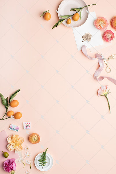 MaeMae x SC Stationery Collection: Peach and Pink #02