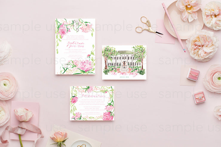 MaeMae x SC Stationery Collection: Peach SET 5