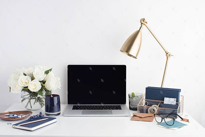 Styled Stock Photography Navy Desk Collection #24