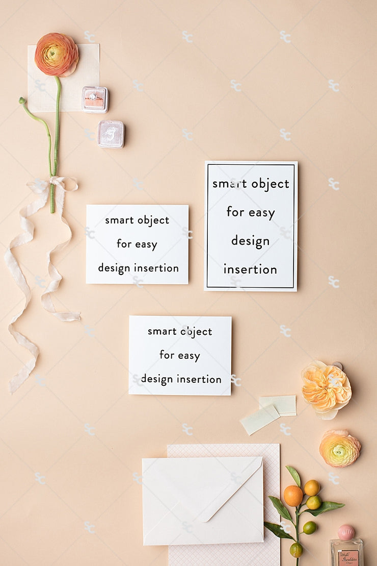 MaeMae x SC Stationery Collection: Peach SET 2