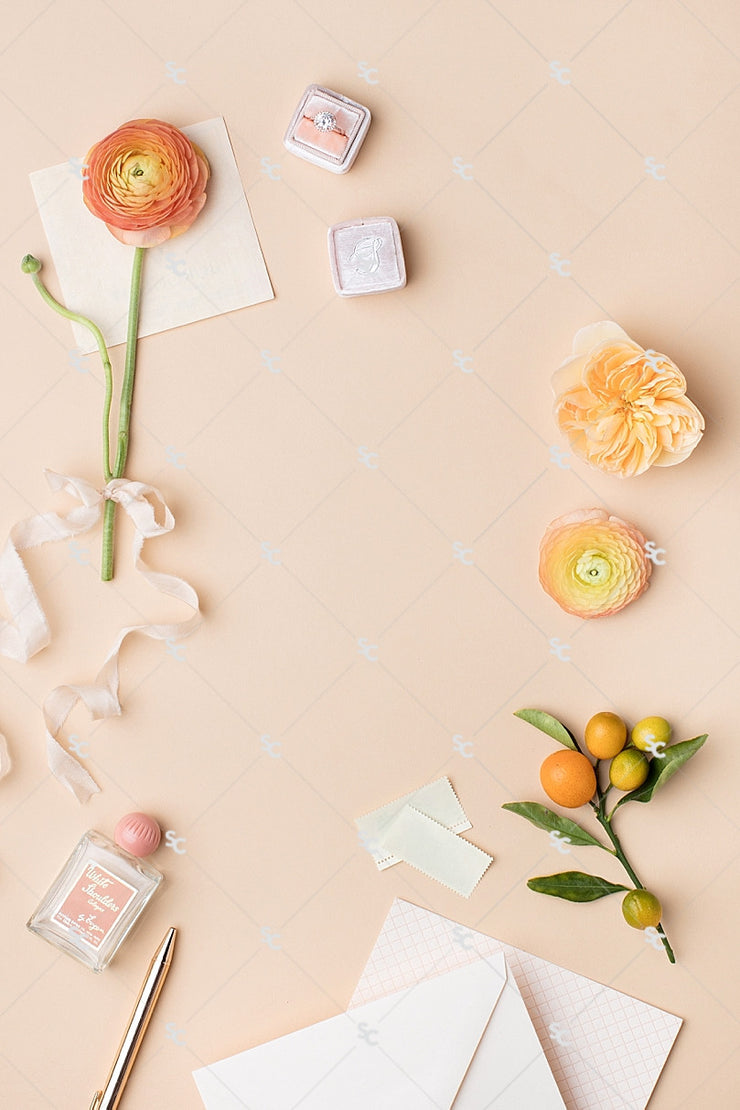 MaeMae x SC Stationery Collection: Peach #04