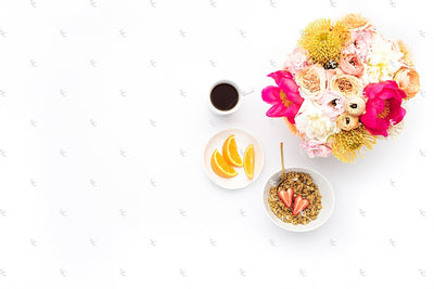 Styled Stock Photography Citrus Desk Collection #39