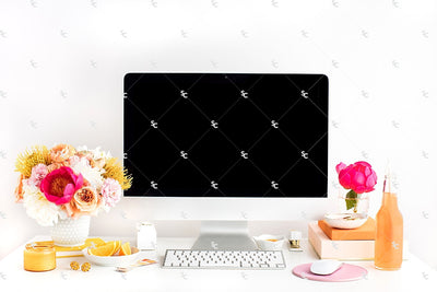 Styled Stock Photography Citrus Desk Collection #26