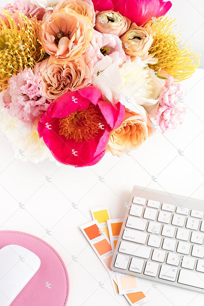 Styled Stock Photography Citrus Desk Collection #11