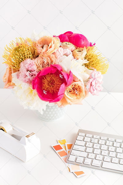 Styled Stock Photography Citrus Desk Collection #13