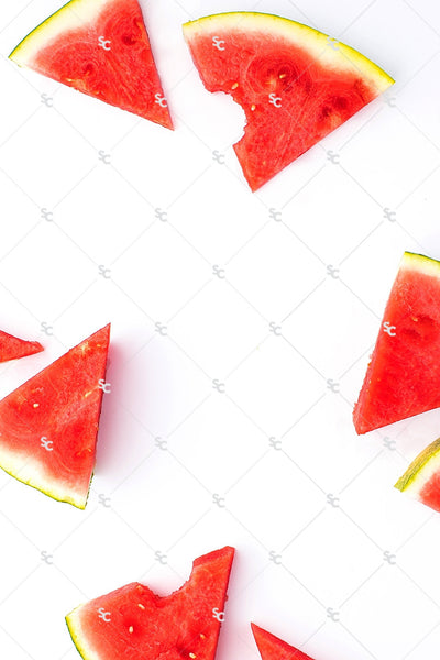 Summer Fruit Seasonal | Watermelon Stock Image