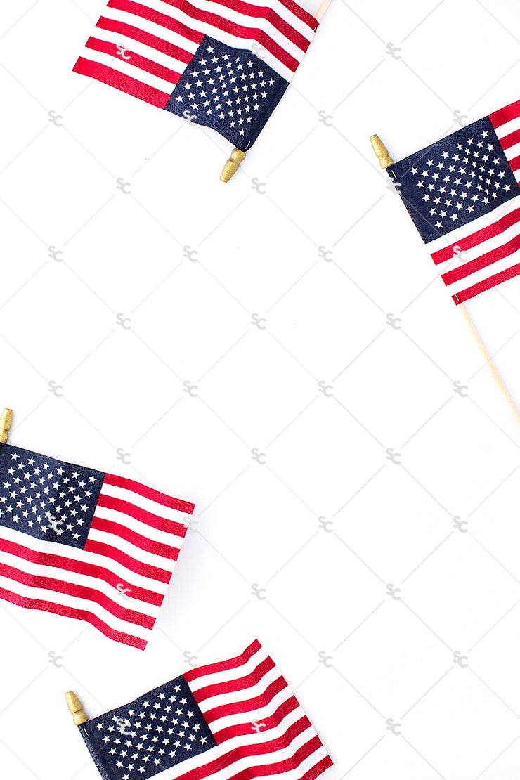 Patriotic Collection #15 | American Flag Stock Image