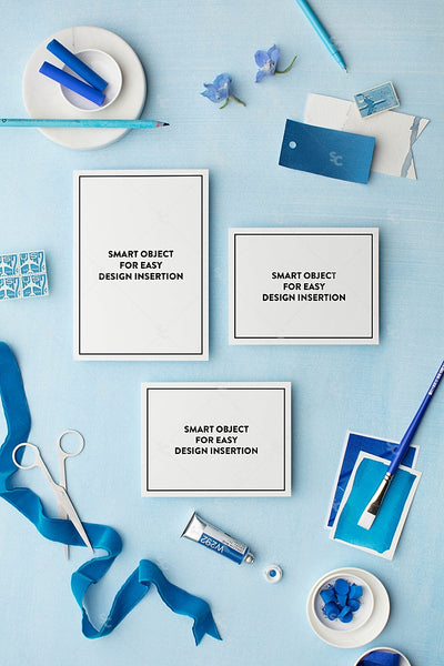 MaeMae x SC Collection: Cerulean SET 2 | Invitation Suite