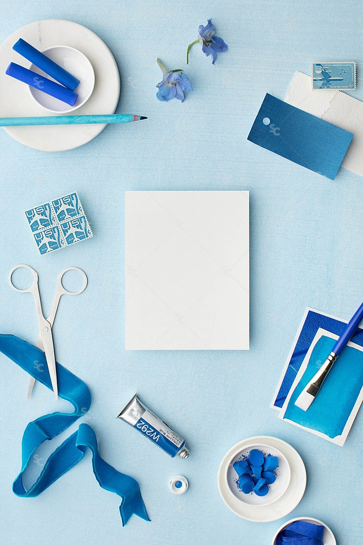 MaeMae x SC Collection: Cerulean SET 8 | Notecards