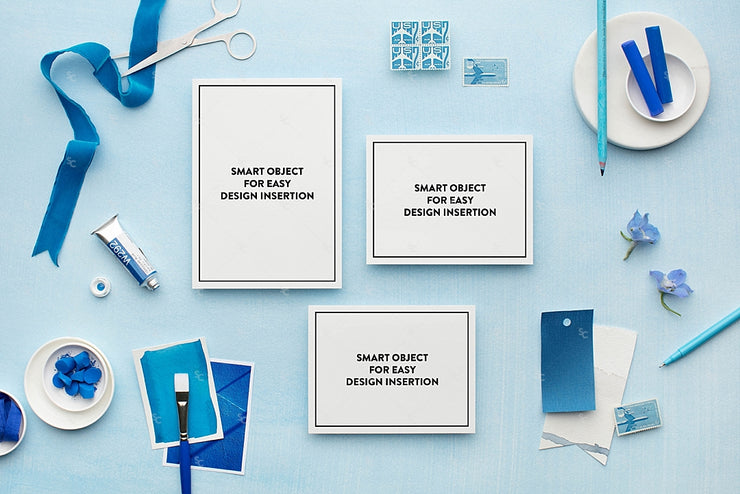 MaeMae x SC Collection: Cerulean SET 1 | Invitation Suite