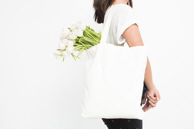 Tote Bag Styled Stock