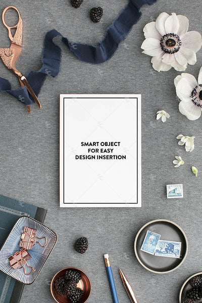 MaeMae x SC Collection: Navy SET 7 | A7 Stationery