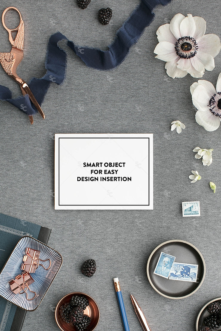 MaeMae x SC Collection: Navy SET 8 | Notecards