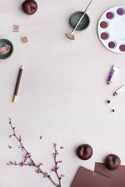 MaeMae x SC Stationery Collection: Plum SET 5 | Tablet Screen