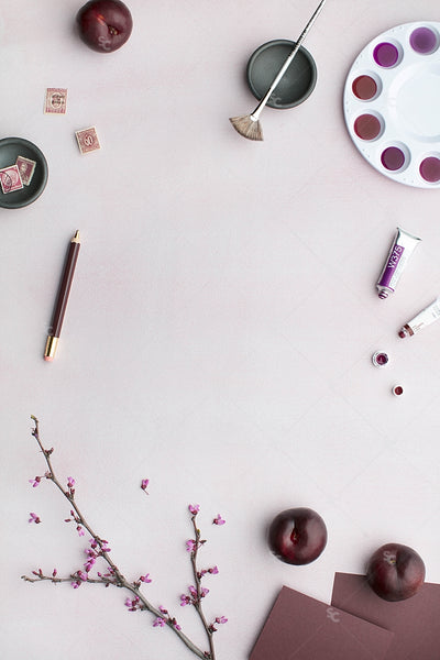 MaeMae x SC Stationery Collection: Plum #2