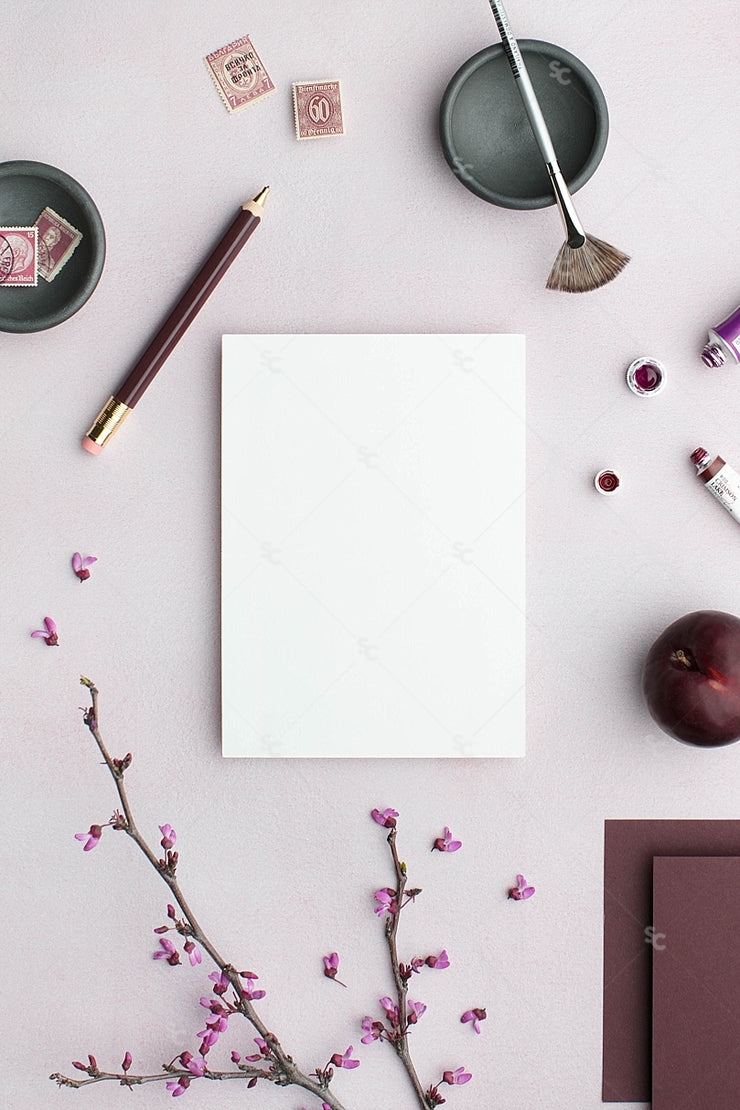 MaeMae x SC Collection: Plum SET 7 | A7 Stationery