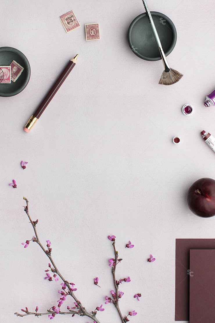 MaeMae x SC Stationery Collection: Plum #3