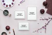 MaeMae x SC Stationery Collection: Plum SET 2 | Invitation Suite
