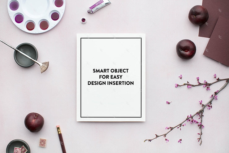 MaeMae x SC Stationery Collection: Plum SET 3 | 8x10 Prints