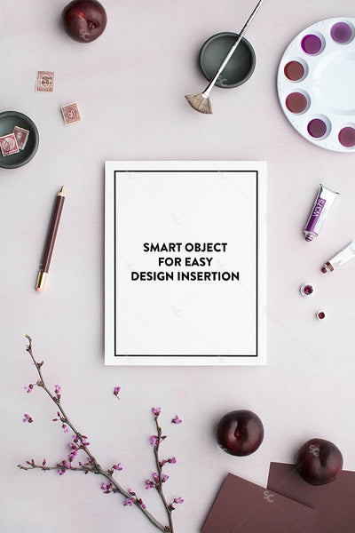 MaeMae x SC Stationery Collection: Plum SET 4 | 8x10 Prints