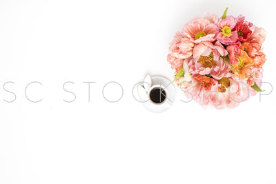 Styled Stock Photography Happy Poppy Desk Collection #05