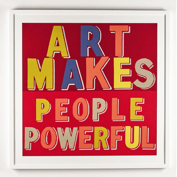 Fine Cell Work Human Touch Exhibition Sothebys Bob and Roberta Smith Art Makes People Powerful