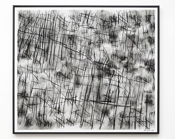 Fine Cell Work Human Touch Exhibition Idris Khan Numbers Hand Sewn Photograph