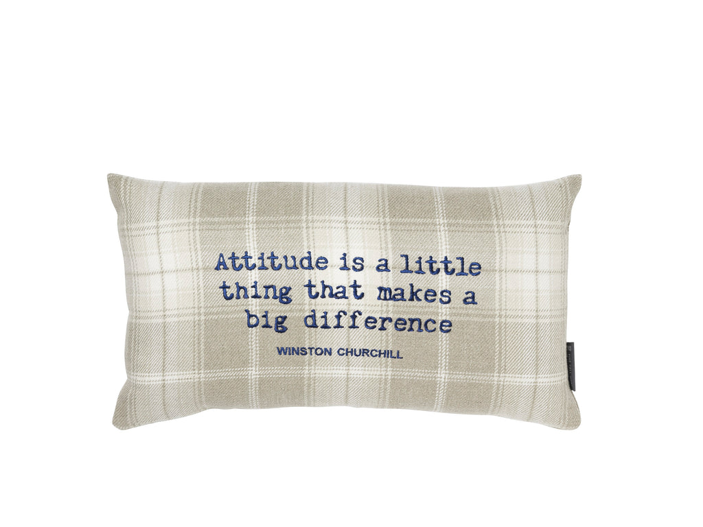Winston Churchill 'Attitude' Cream and Navy