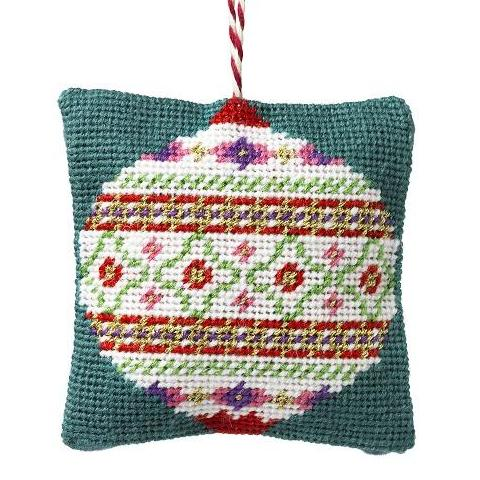 Handmade Needlepoint Bauble