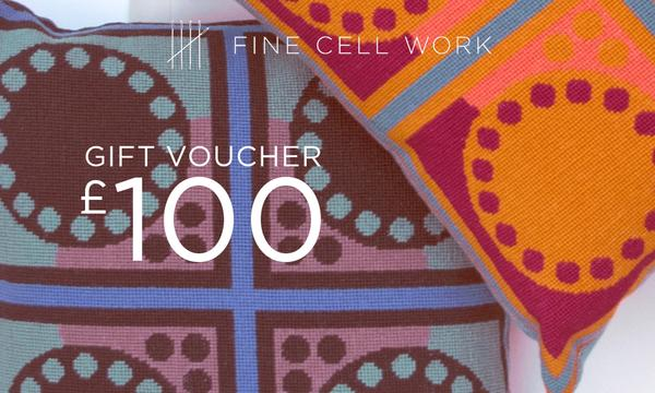 £100 Gift Voucher Fine Cell Work