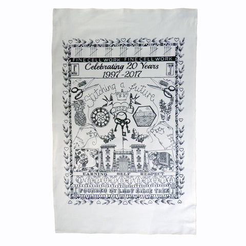 20 Year Anniversary Tea Towel