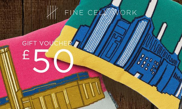£50 Gift Voucher Fine Cell Work