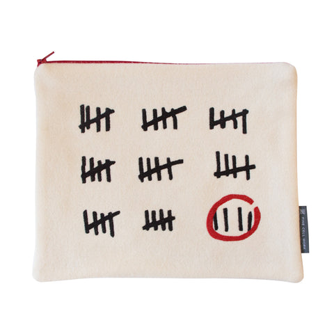 Prison Calendar by AA Gill Tablet Cover / Folder