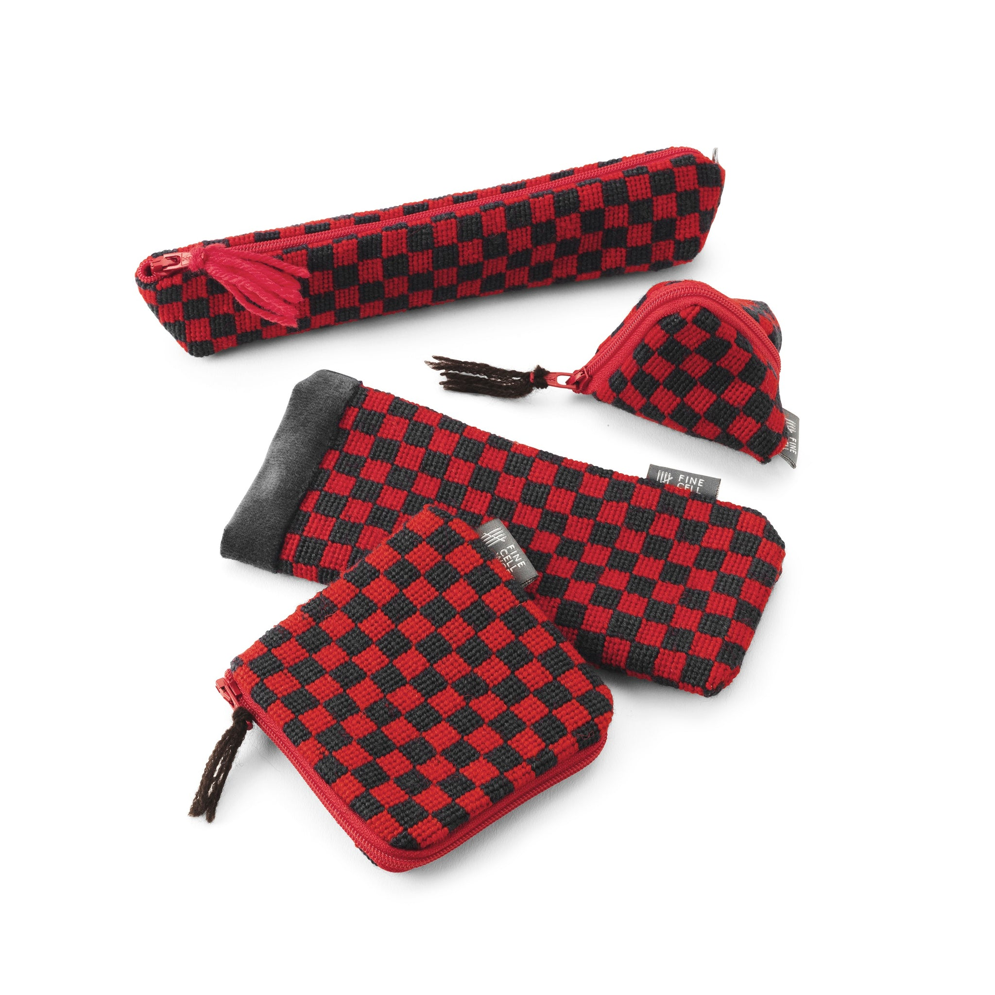 Piccadilly Chequerboard Glasses Case