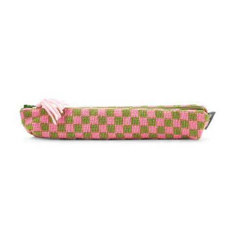 Sissinghurst Chequerboard Pencil Case