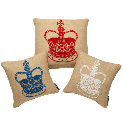 Small Crown cushions