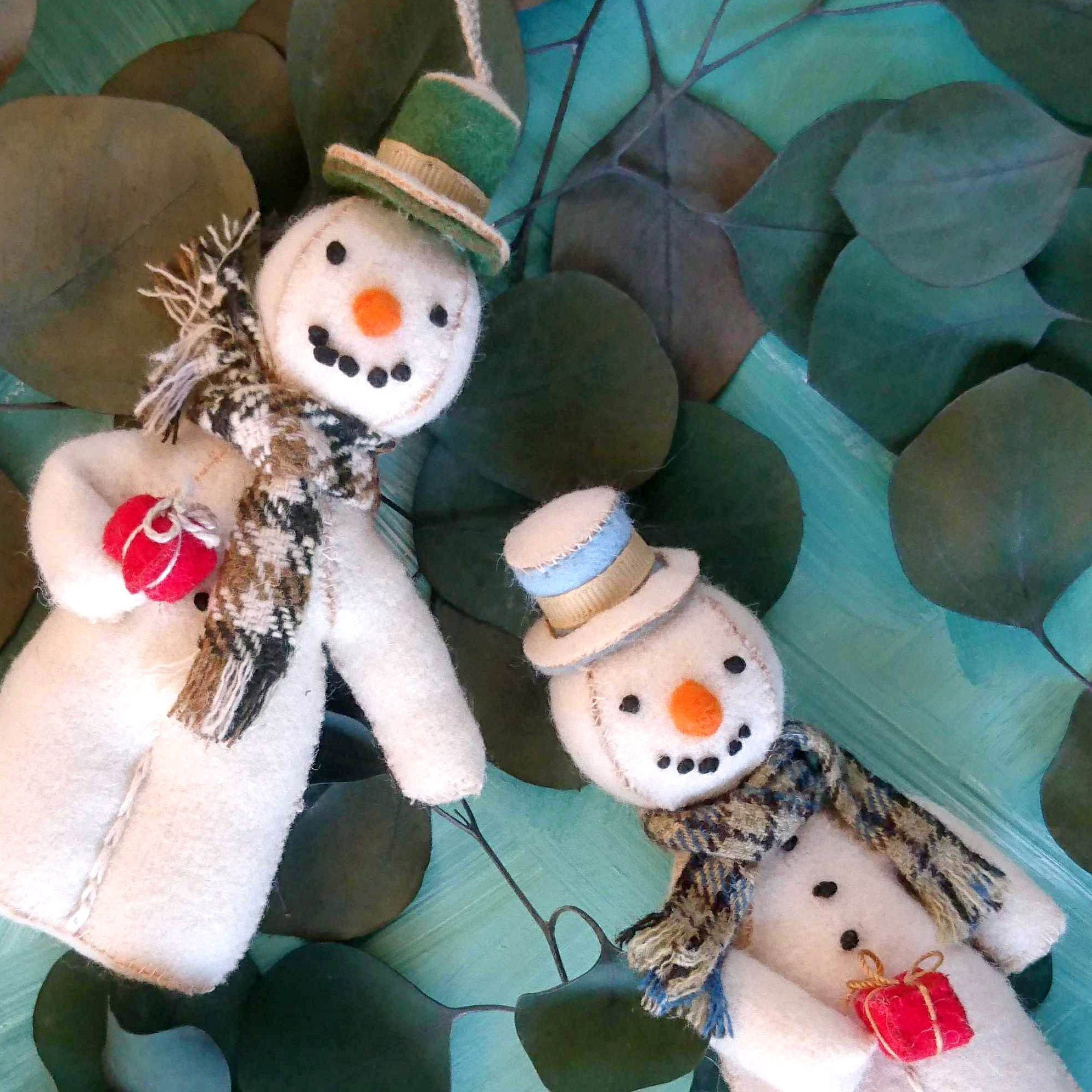 Handmade Christmas Decoration Sonny the Snowman