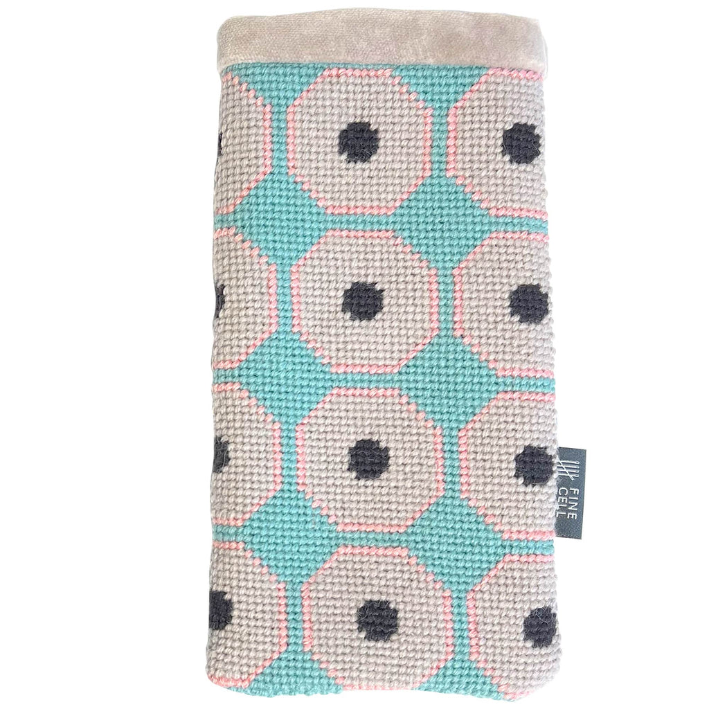 Neisha Crosland Grape Aegean Blue Glasses Case