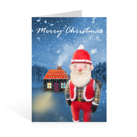 Pack of 5 Christmas Cards Winter Wonderland Design