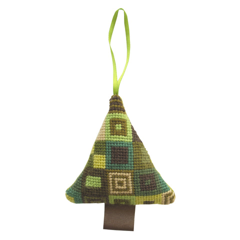 Handmade Green Christmas Tree Decoration