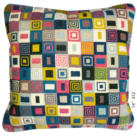 "14"" Geometric Cushion (412)"